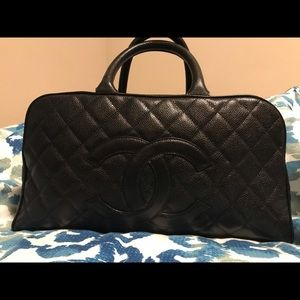 Channel Boston Caviar tote